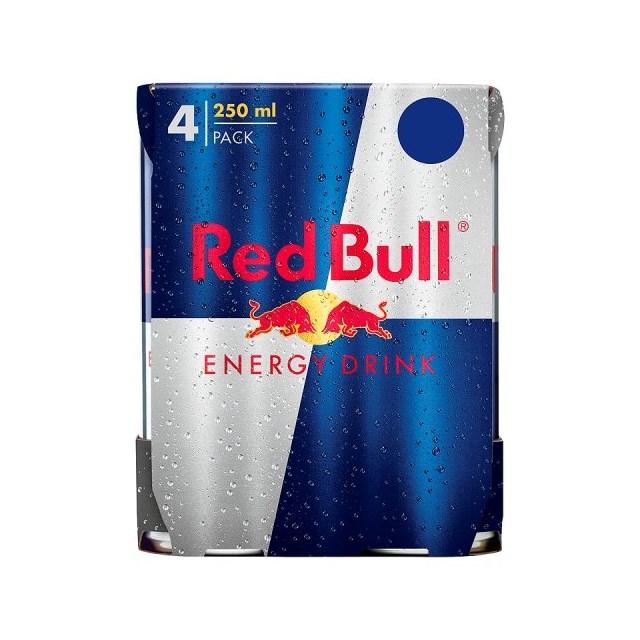 RED BULL £4.89 4 PACK