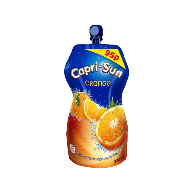 CAPRI SUN 95p POUCH ORANGE