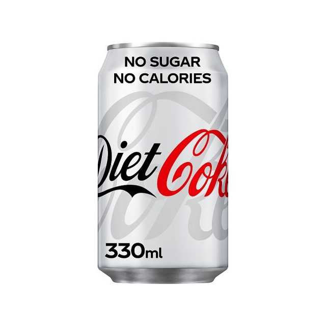 DIET COKE CANS UK/NI