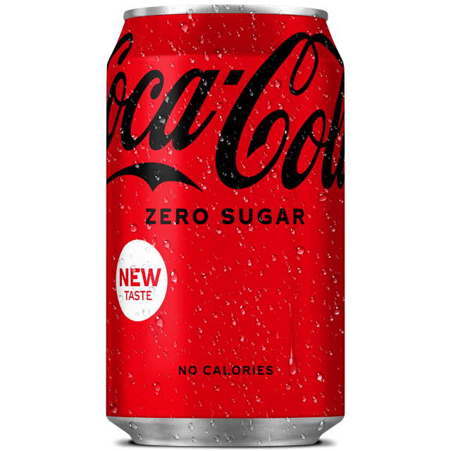 COCA COLA ZERO SUGAR 330ml UK/NI (24 PACK)