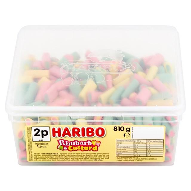 HARIBO 2P RHUBARB & CUSTARD
