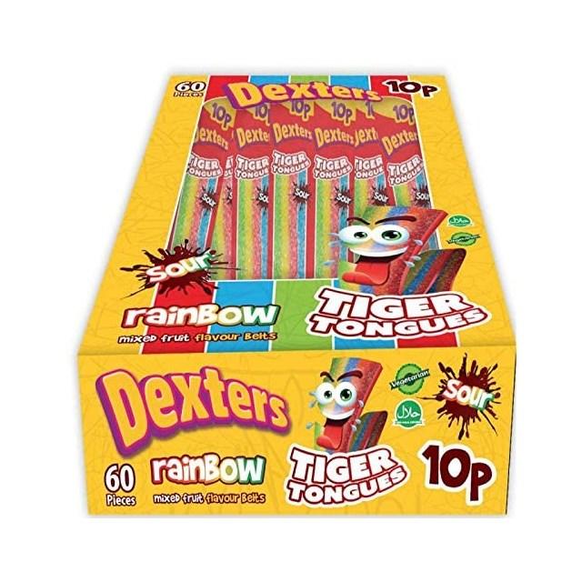 DEXTERS TIGER TONGUES RAINBOW 10p