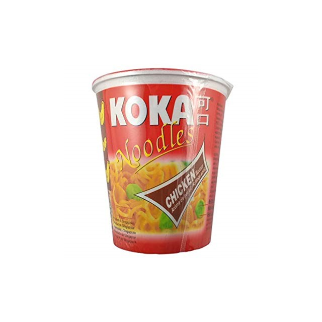 KOKA CUP NOODLES CURRY 70g (12 PACK)