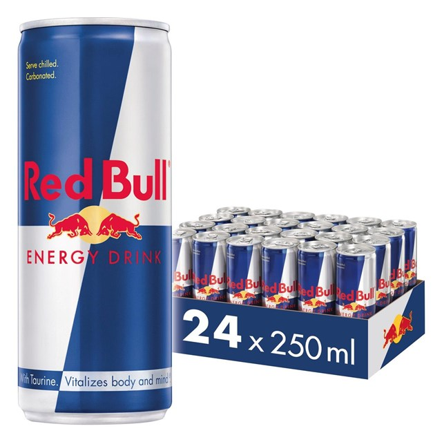 RED BULL ENERGY DRINK £1.35