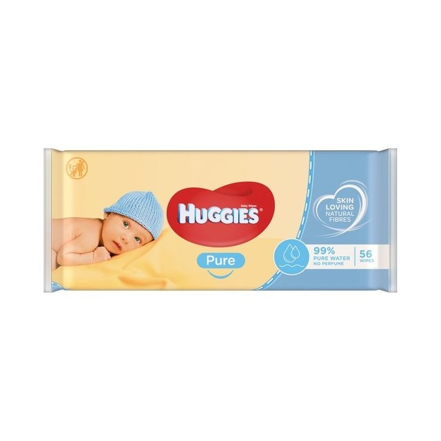 HUGGIES BABY WIPES - PURE