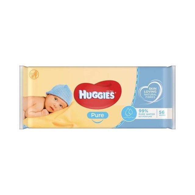HUGGIES BABY WIPES PURE 56 Wipes