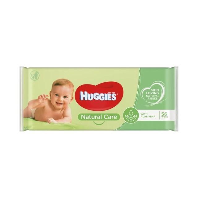 HUGGIES BABY WIPES - NATURAL CARE