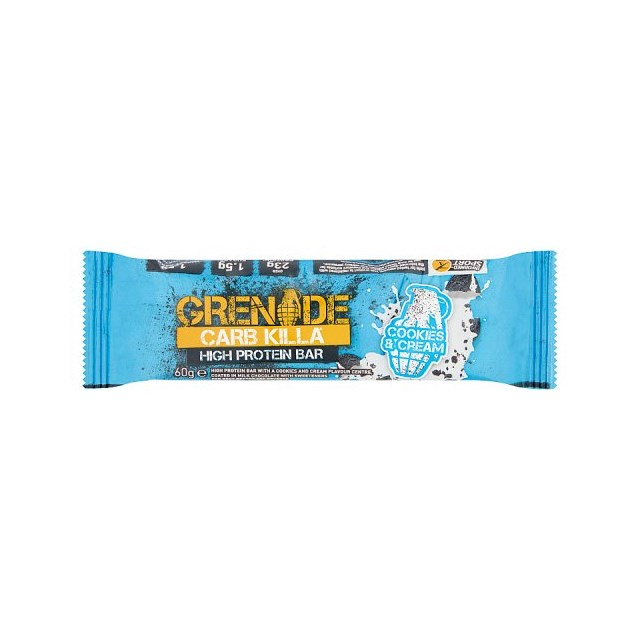 GRENADE CARB KILLA COOKIES & CREAM