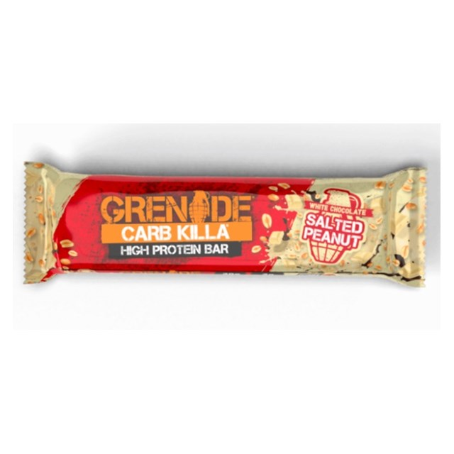 GRENADE CARB KILLA WHITE CHOCOLATE SALTED  60g (12 PACK)