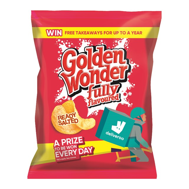 GOLDEN WONDER 32's READY SALTED