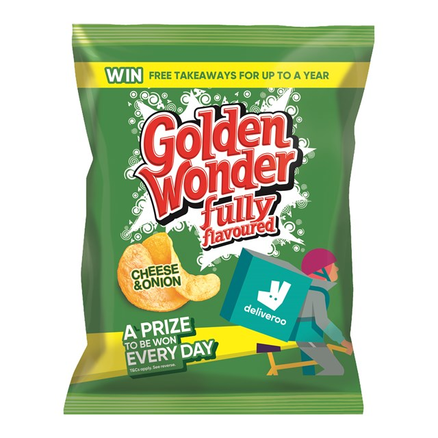 GOLDEN WONDER 32's CHEESE & ONION