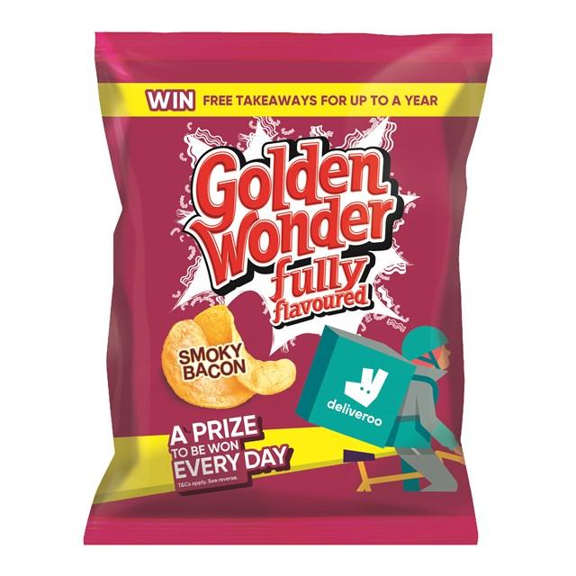 GOLDEN WONDER 32's SMOKY BACON