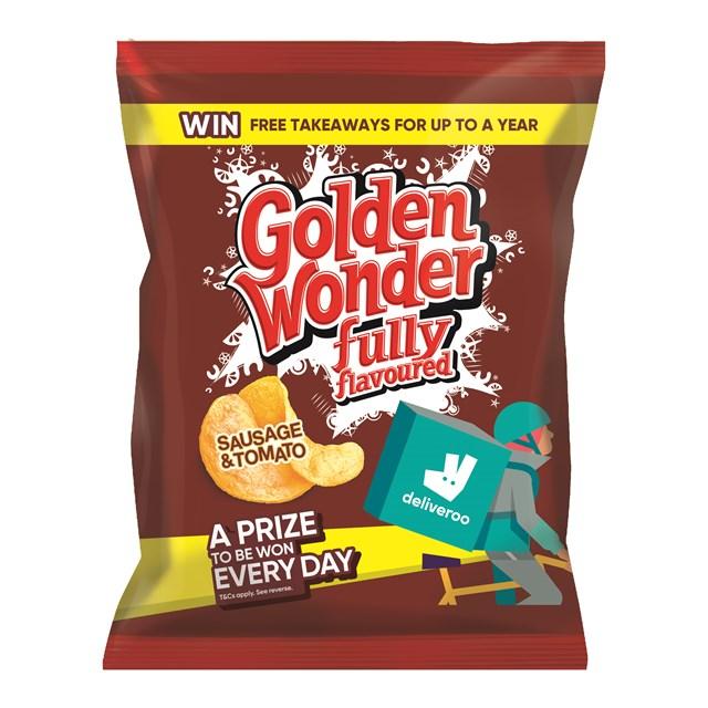 GOLDEN WONDER 32's SAUSAGE & TOMATO