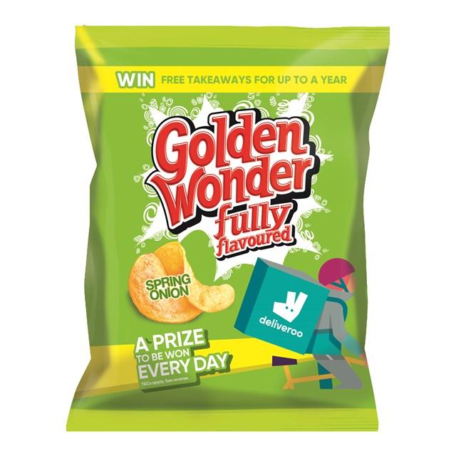 GOLDEN WONDER 32's SPRING ONION