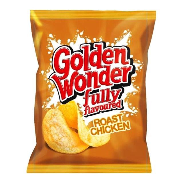 GOLDEN WONDER ROAST CHICKEN 32.5g (32 PACK)