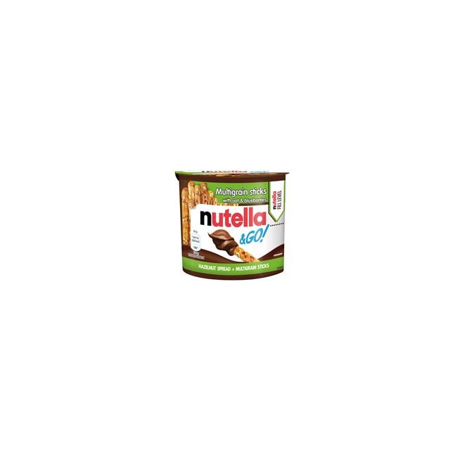 NUTELLA & GO HAZELNUT SPREAD WITH MUTIGRAIN BREADSTICKS 50g (12 PACK)
