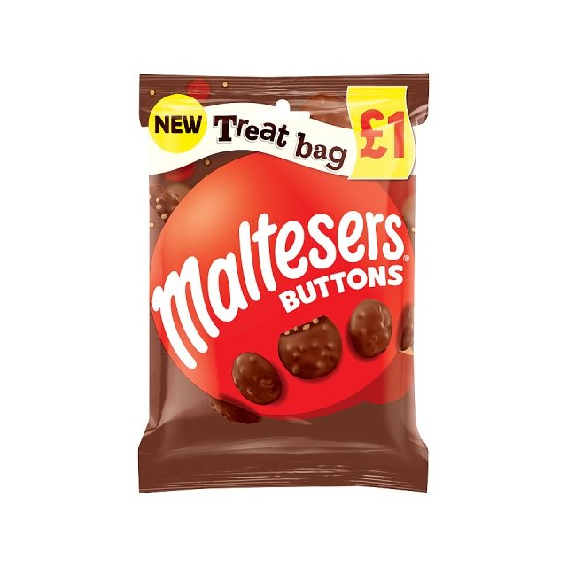 MALTESERS BUTTONS TREAT BAG 68g £1 (20 PACK0