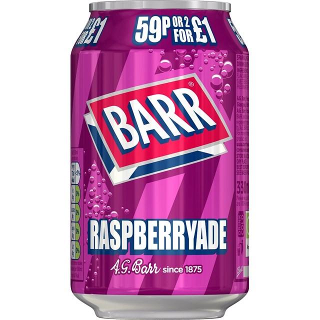 BARRS 45P RASPBERRYADE