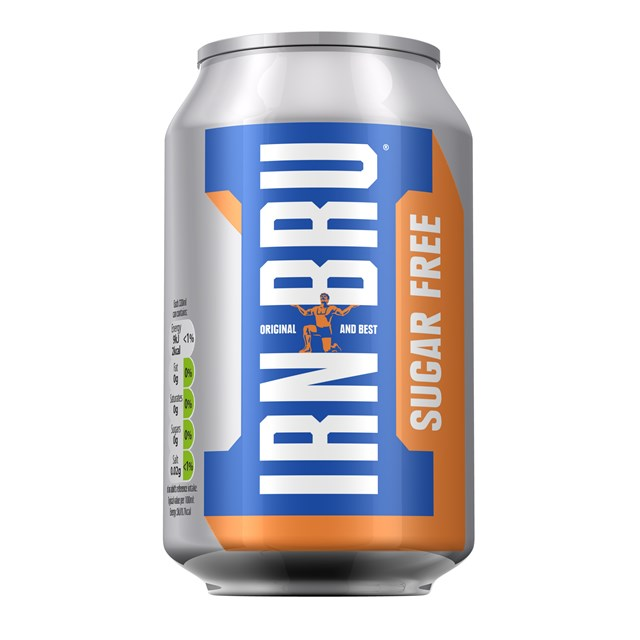 BARRS SUGAR FREE BRU CANS