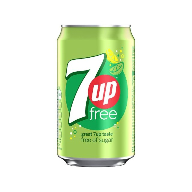 7UP FREE 330ml (24 PACK)