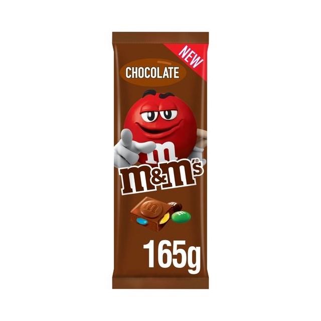 M&M BLOCK CHOCOLATE