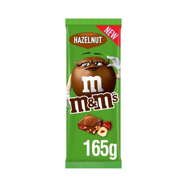 M&M BLOCK HAZELNUT