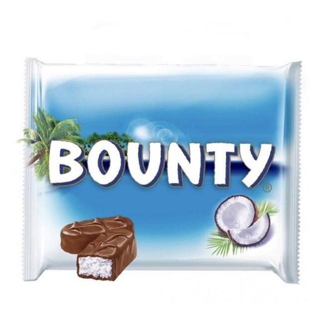 BOUNTY MILK CHOCOLATE (12 x 3 PACK)