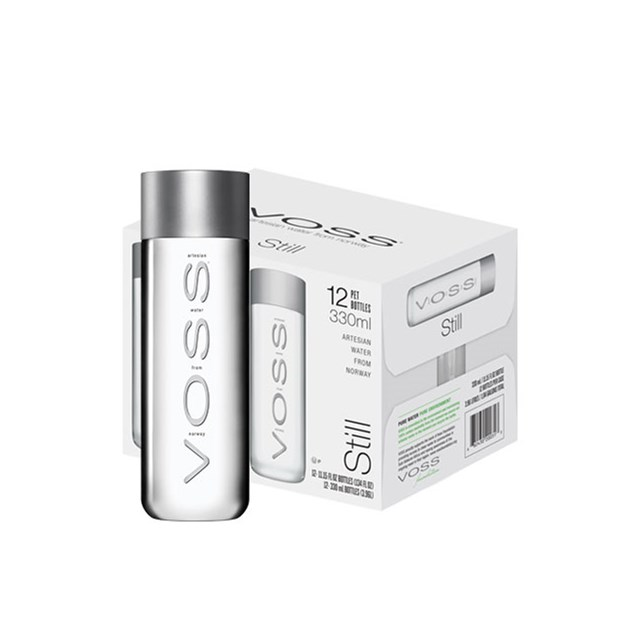VOSS STILL ARTESIAN WATER FROM NORWAY 330ml (12 PACK)