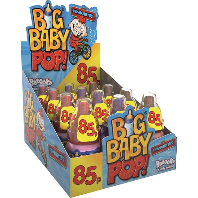 BAZOOKA BIG BABY POP 32g 85p (12 PACK)