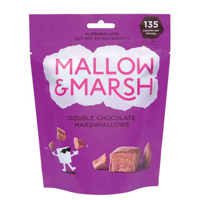 MALLOW & MARSH DOUBLE CHOCOLATE MARSHMALLOWS 100g