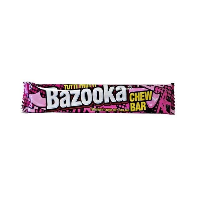 BAZOOKA CHEW BAR TUTTI FRUTTI
