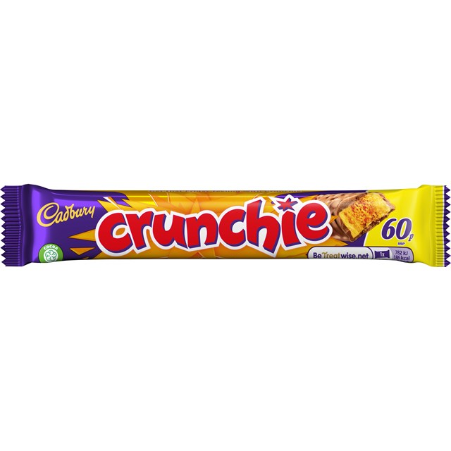 CADBURYS CRUNCHIE 60P 40g (48 PACK)