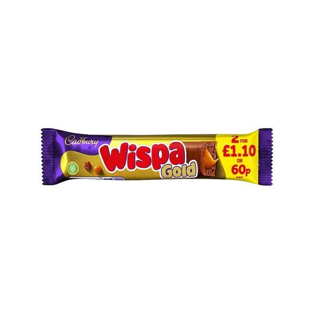CADBURYS WISPA GOLD 60P 48g (48 PACK)
