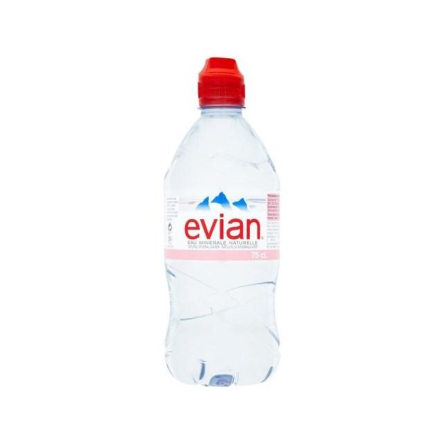 EVIAN 750ML