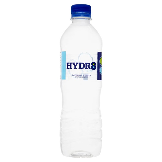 HYDR8 STILL WATER 500ml (24 PACK)