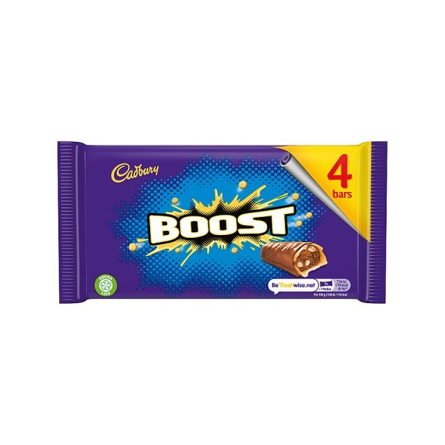 CADBURYS BOOST £1 (9 x 4 PACK)