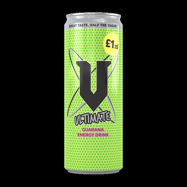 V ENERGY DRINK 250ml £1.15 (24 PACK)