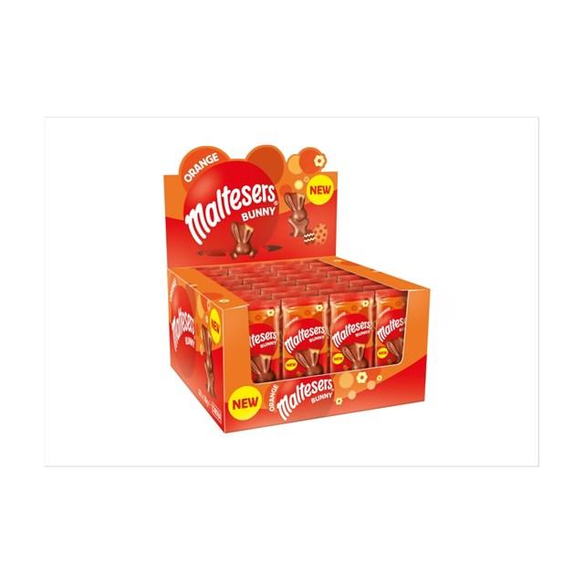 MALTESERS BUNNY ORANGE CHOCOLATE EASTER TREAT 29g (32 PACK) 7 NOVEMBER DATED