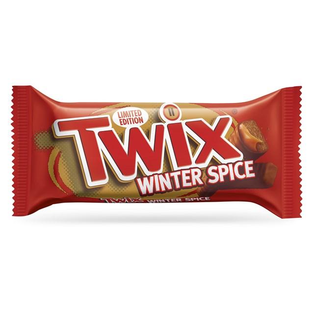 TWIX WINTER SPICE 30 TWIN BARS