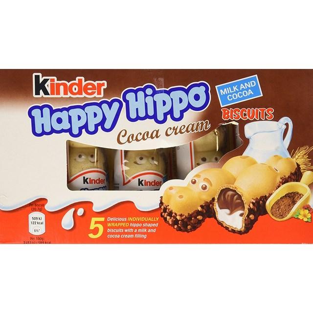 KINDER HAPPY HIPPO COCOA (10 x 5 PACK)