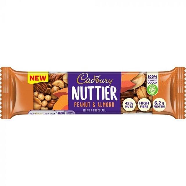 CADBURY NUTTIER PEANUT & ALMOND 40g (3 PACK)