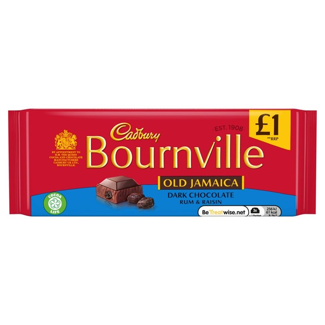 BOURNVILLE £1 OLD JAMAICA
