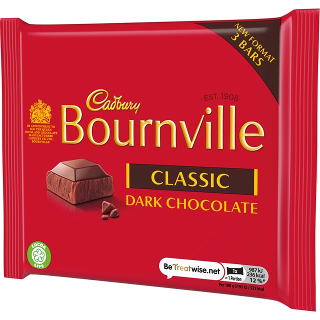 BOURNVILLE 3PACK