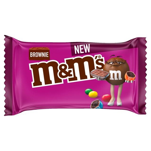 M&Ms BROWNIE 36g (24 PACK)