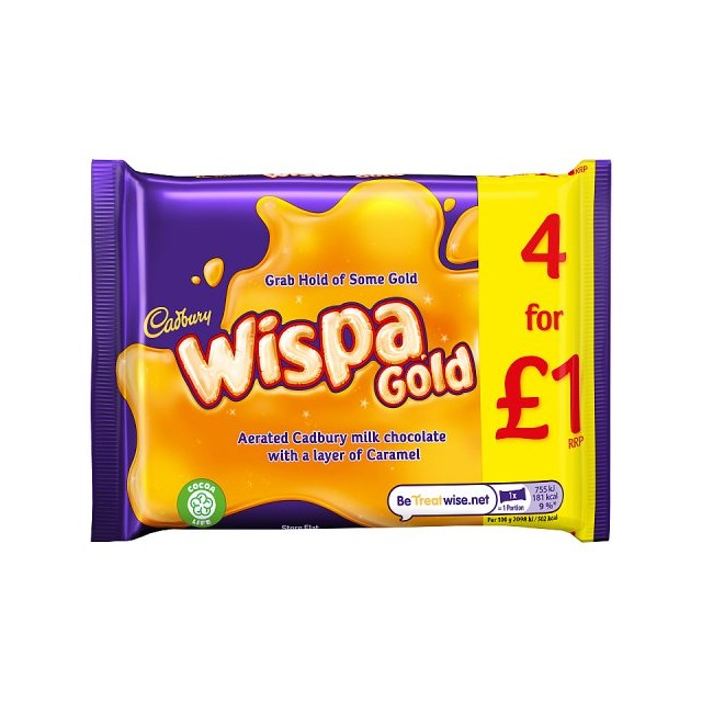 WISPA GOLD 4 PACK 126g (11 x 4 PACK0
