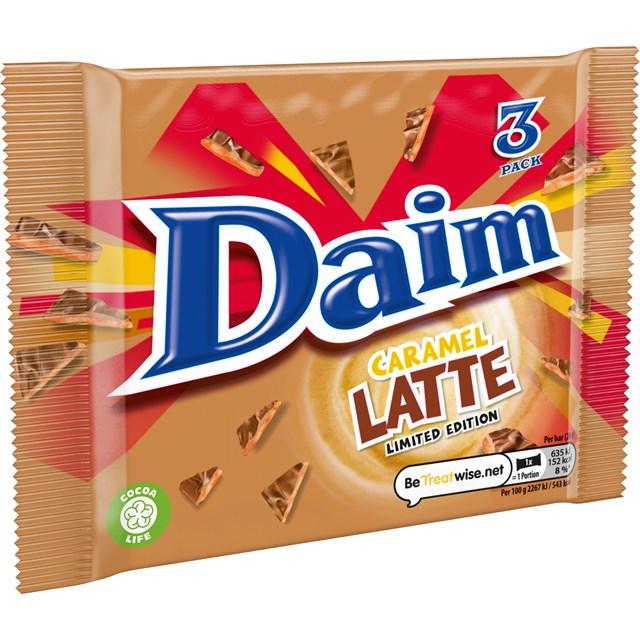 DAIM CARAMEL LATTE 84g (24 x 3 PACK)