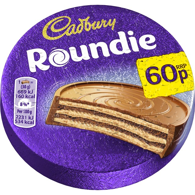 CADBURY ROUNDIES 50P