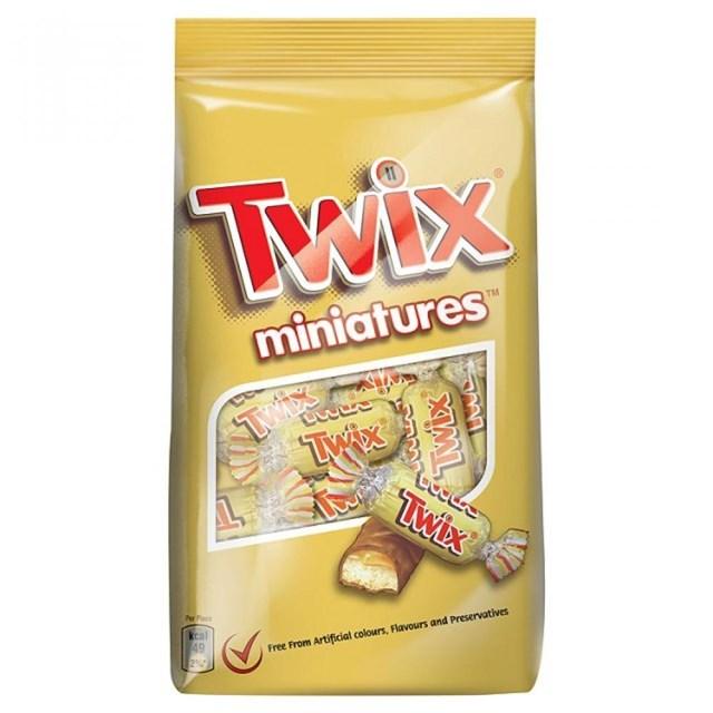 TWIX 130g MINIATURES POUCH (PACK14)