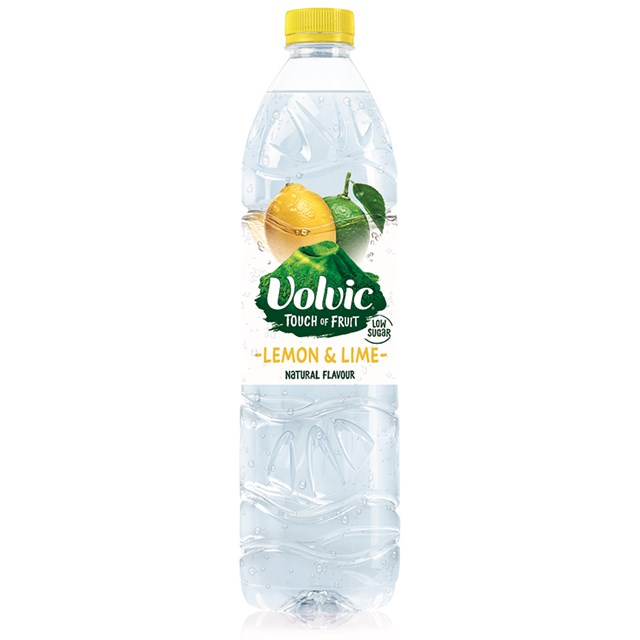 VOLVIC TOUCH OF FRUIT LEMON & LIME 1.5L