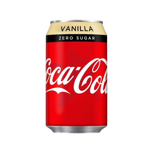 COKE ZERO VANILLA CANS